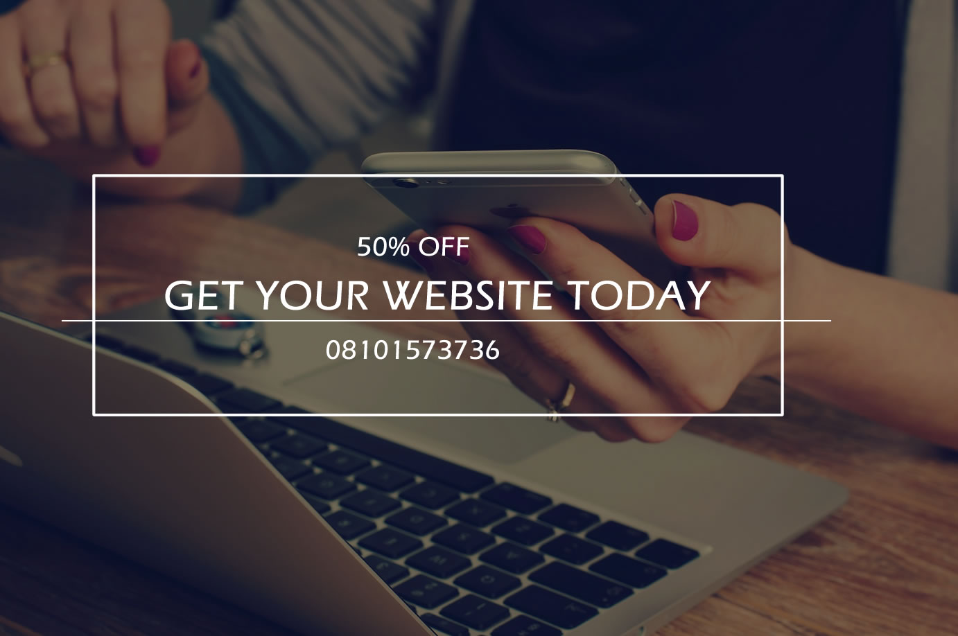 GET YOUR WEBSITE TODAY